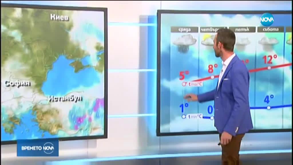 Прогноза за времето (25.03.2020 - обедна емисия)