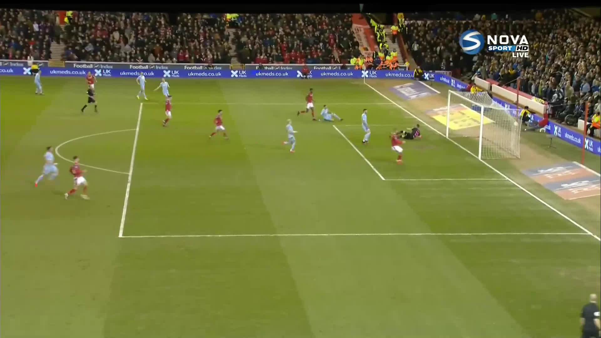 Нотингам Форест - Лийдс Юнайтед 2:0 /репортаж/