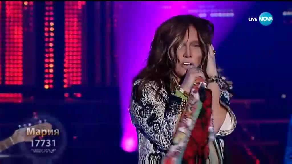 "Мария Илиева като \""Aerosmith - Cryin\'\"" | Като две капки вода"