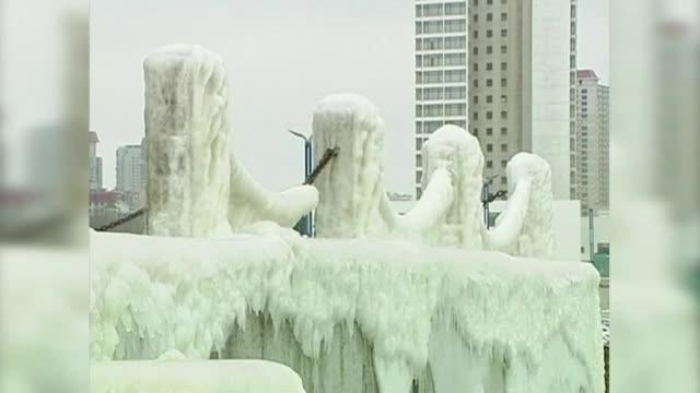 Измериха - 40 градуса в Китай (ВИДЕО)