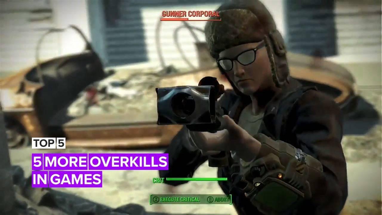 5 more overkills in games