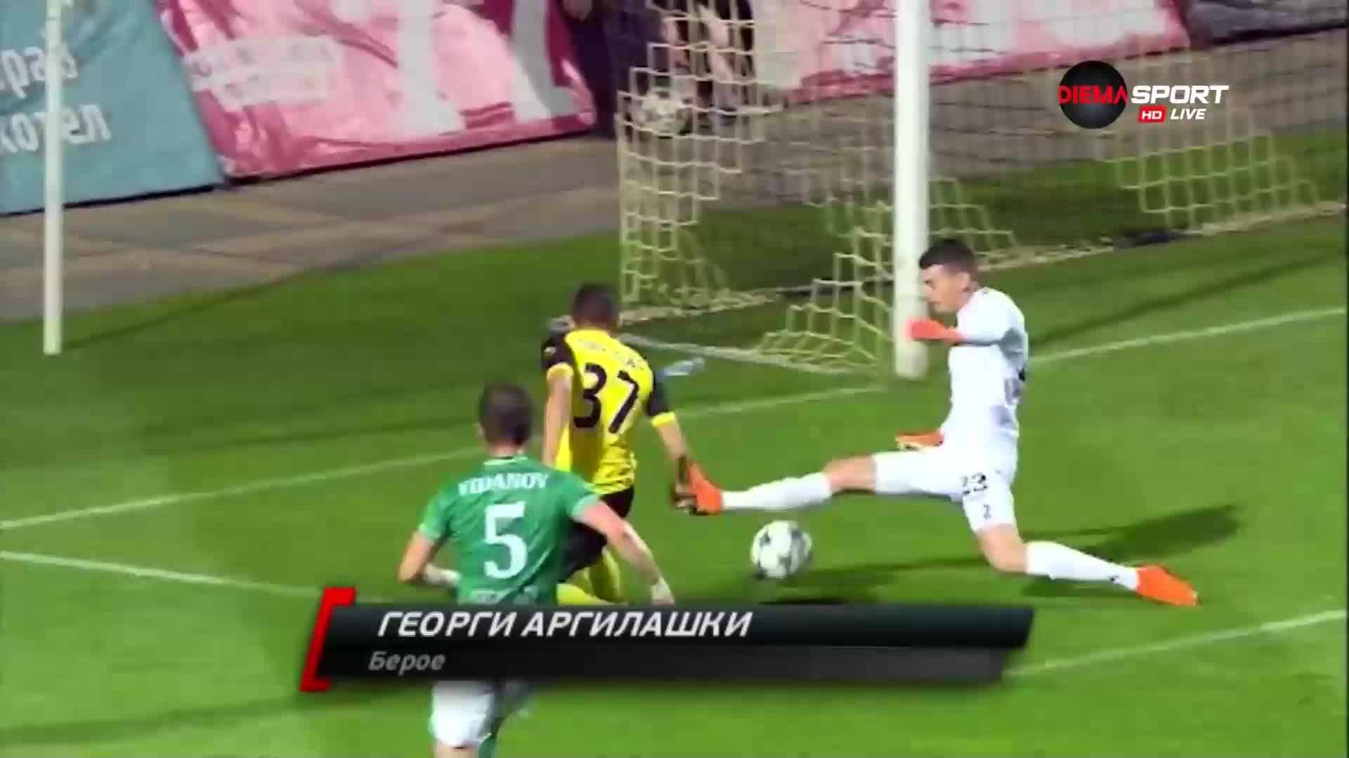 Спасяването на Георги Аргилашки срещу ЦСКА