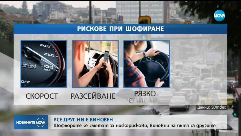 96 % от шофьорите у нас се смятат за нискорискови