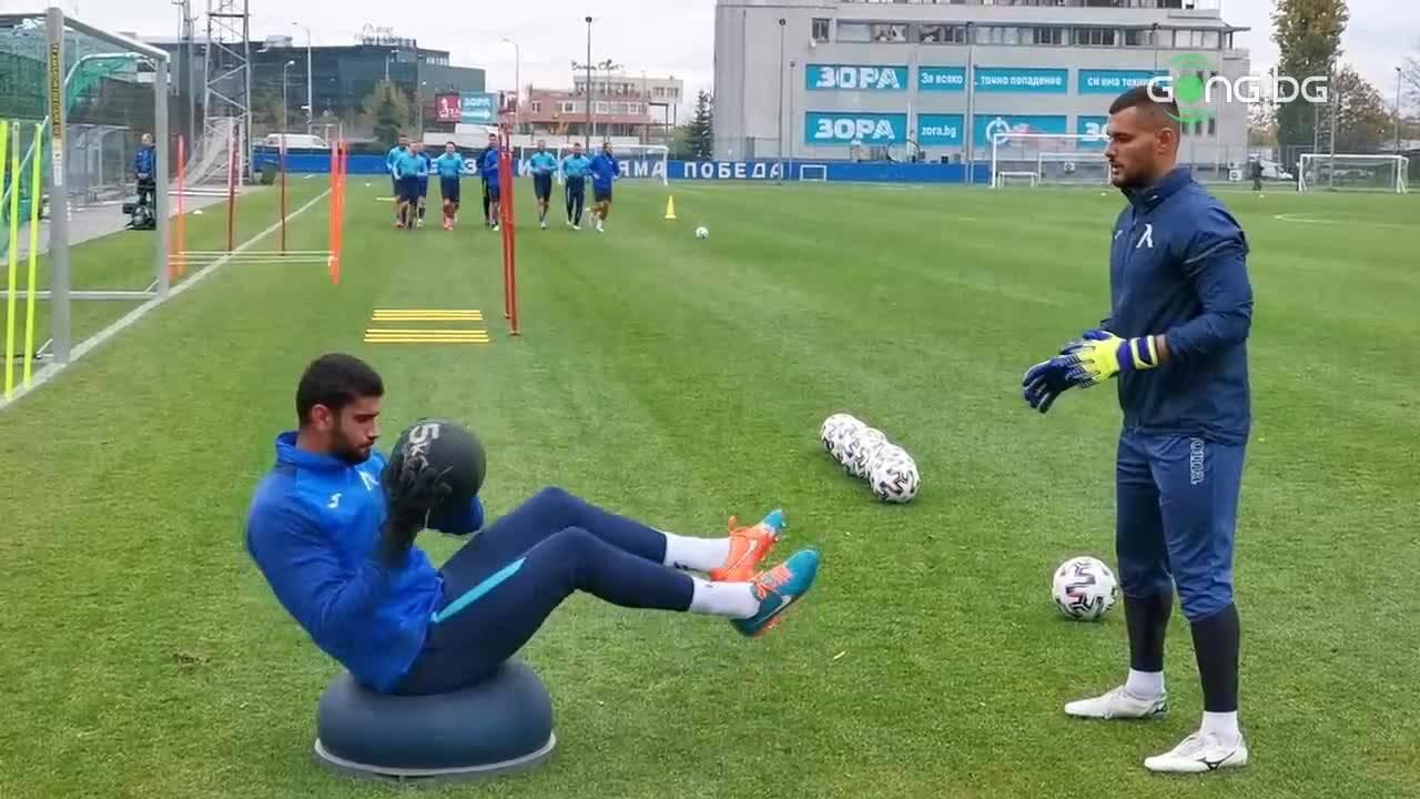 Левски стартира подготовка за мача с Локомотив Пд