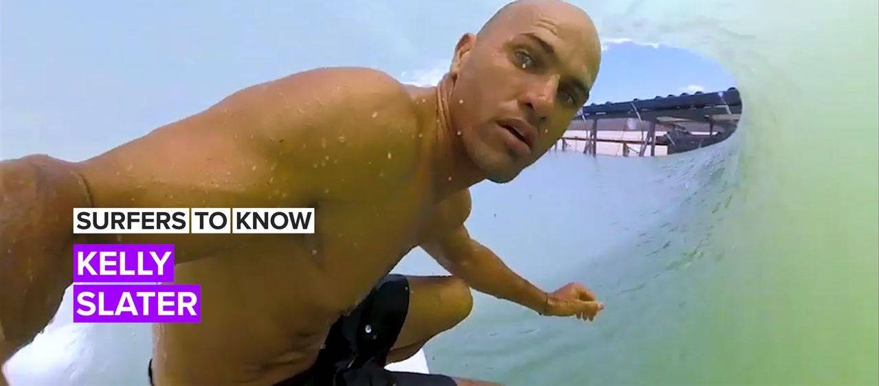 Everything you need to know about pro surfer Kelly Slater
