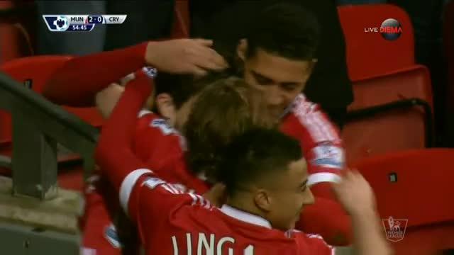 Дармиан удвои преднината на Юнайтед