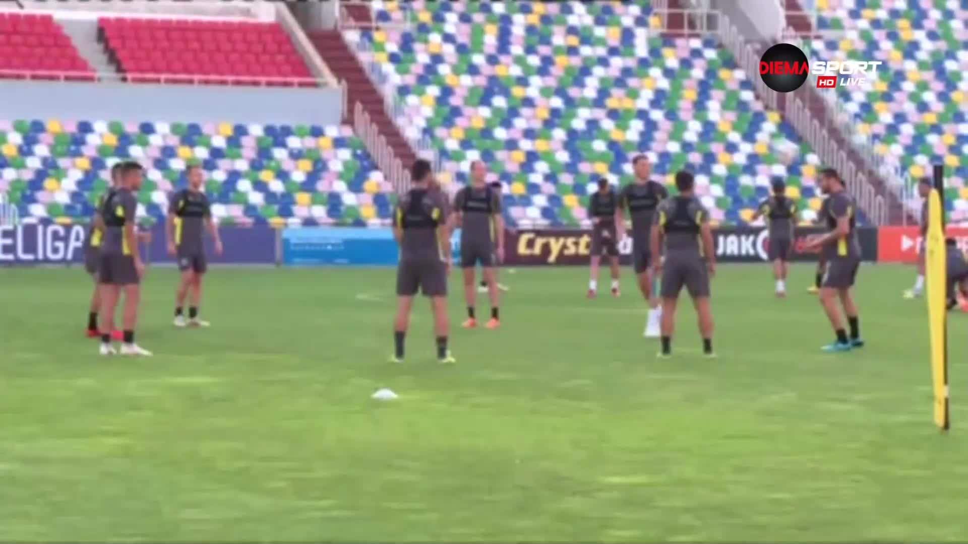 Лудогорец направи официалната си тренировка в Тбилиси