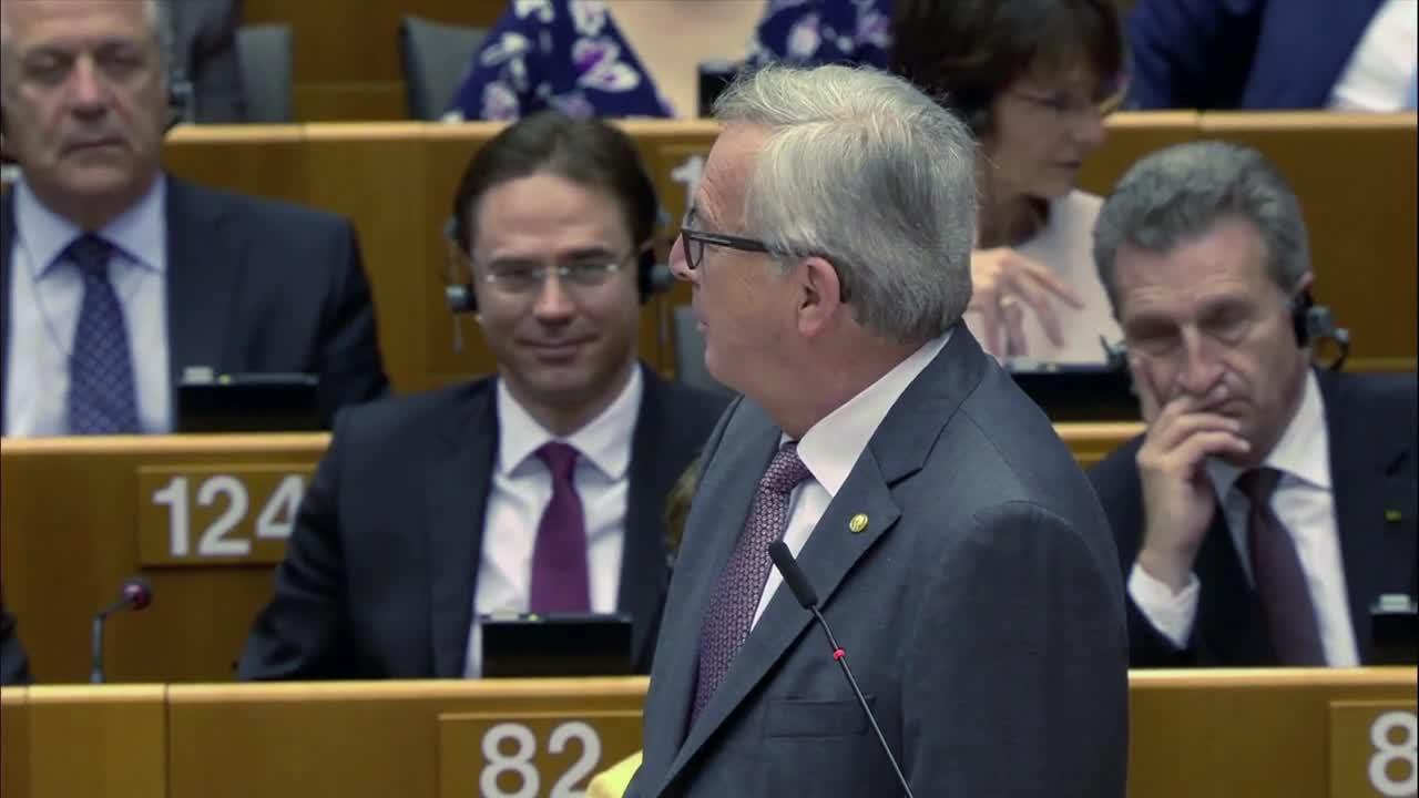 Белгия: Юнкер пита британски депутати защо са тук