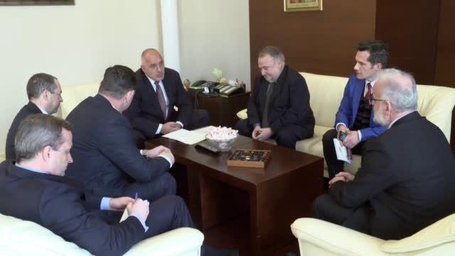 Бойко Борисов се срещна с Талат Джафери