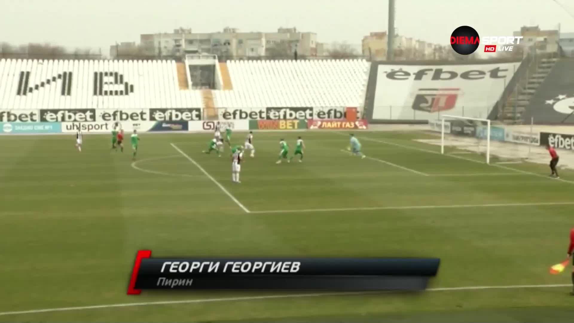Спасяване на Георги Георгиев срещу Локомотив Пд