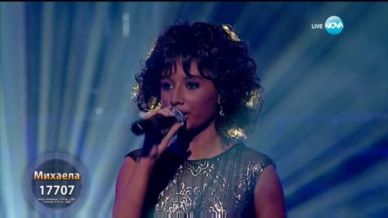 "Михаела като Whitney Houston - \""One Moment In Time\""   Като две капки вода"