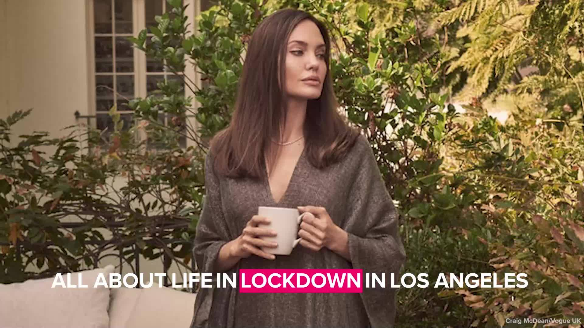 Анджелина Джоли с откровена изповед пред британския Vogue