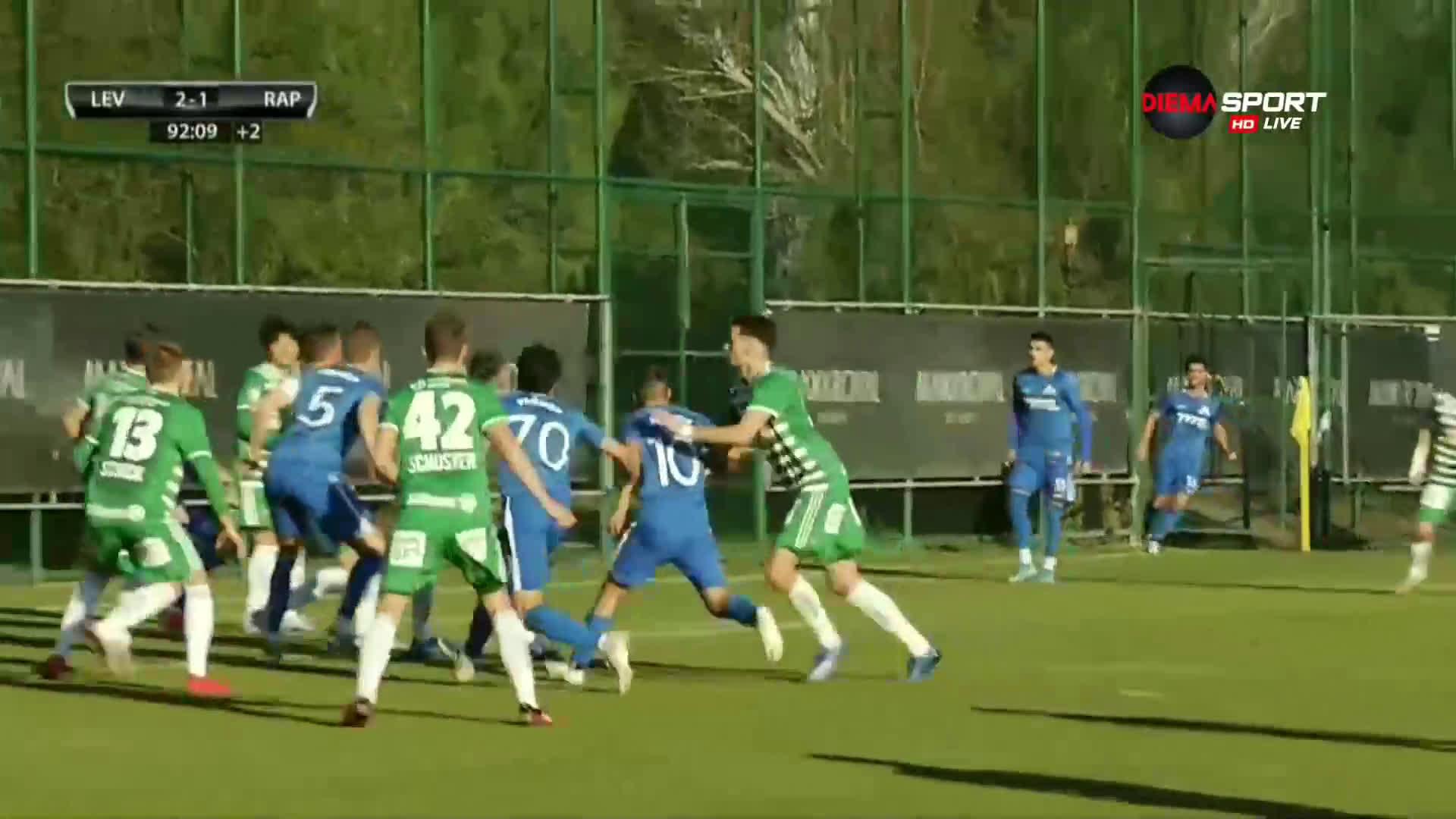 Мартин Райнов донесе успеха на Левски срещу Рапид Виена