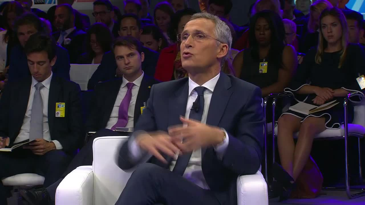 Belgium: Stoltenberg urges NATO not to isolate Russia - \'I think the opposite\'