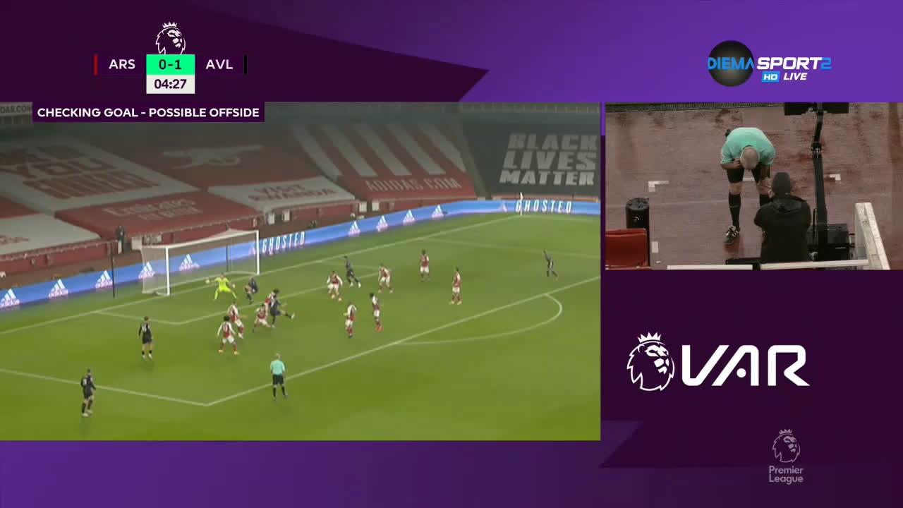 Арсенал - Астън Вила 0:3 /репортаж/