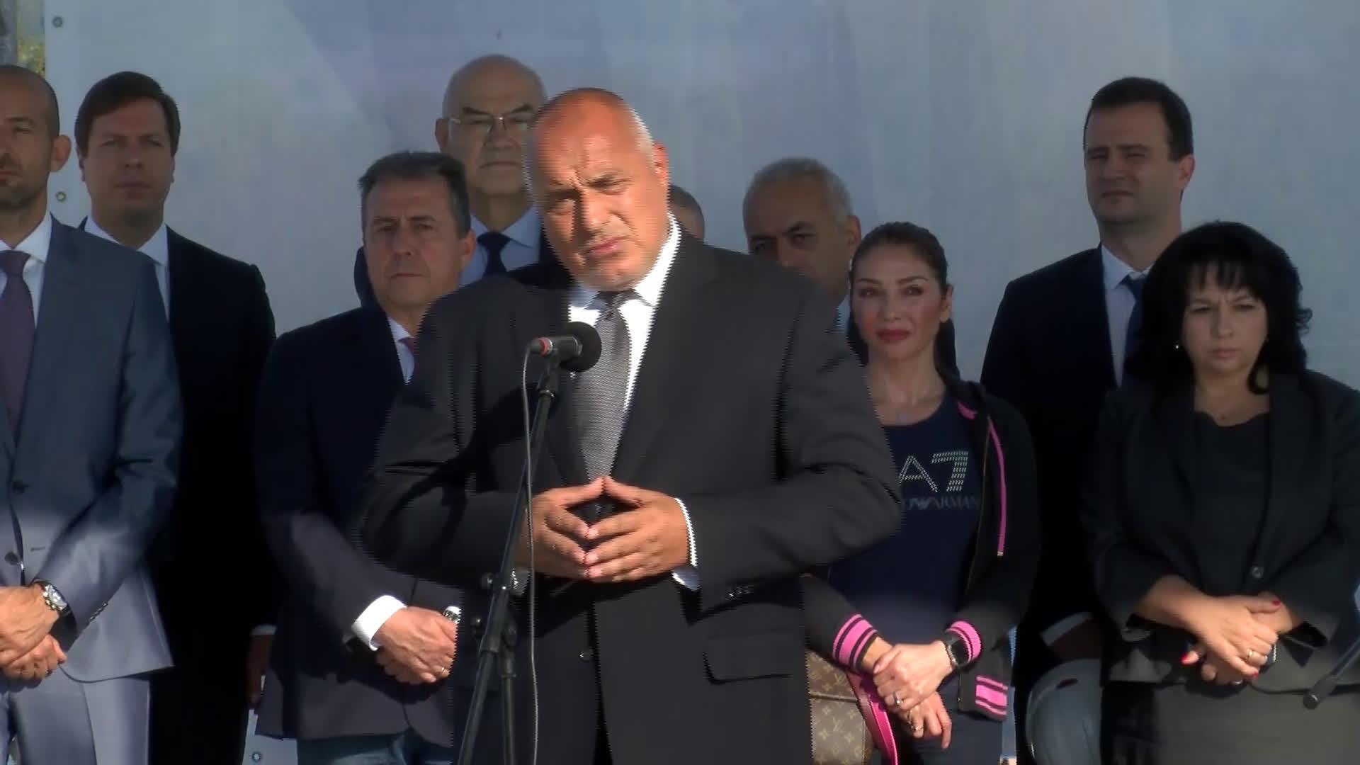 """Борисов откри разширеното трасе на """"Балкански поток"""""""