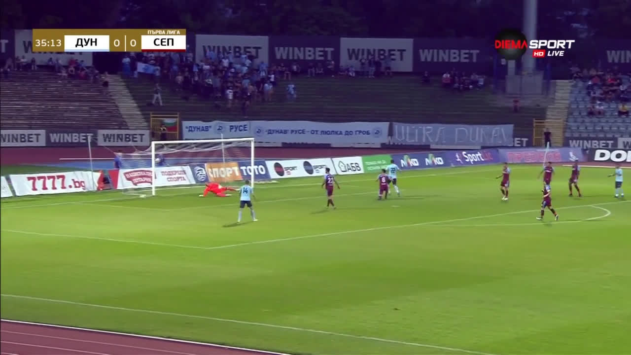 c878bd29cda Дунав - Септември 0:1, гол на Мандиангу! - Topsport.bg