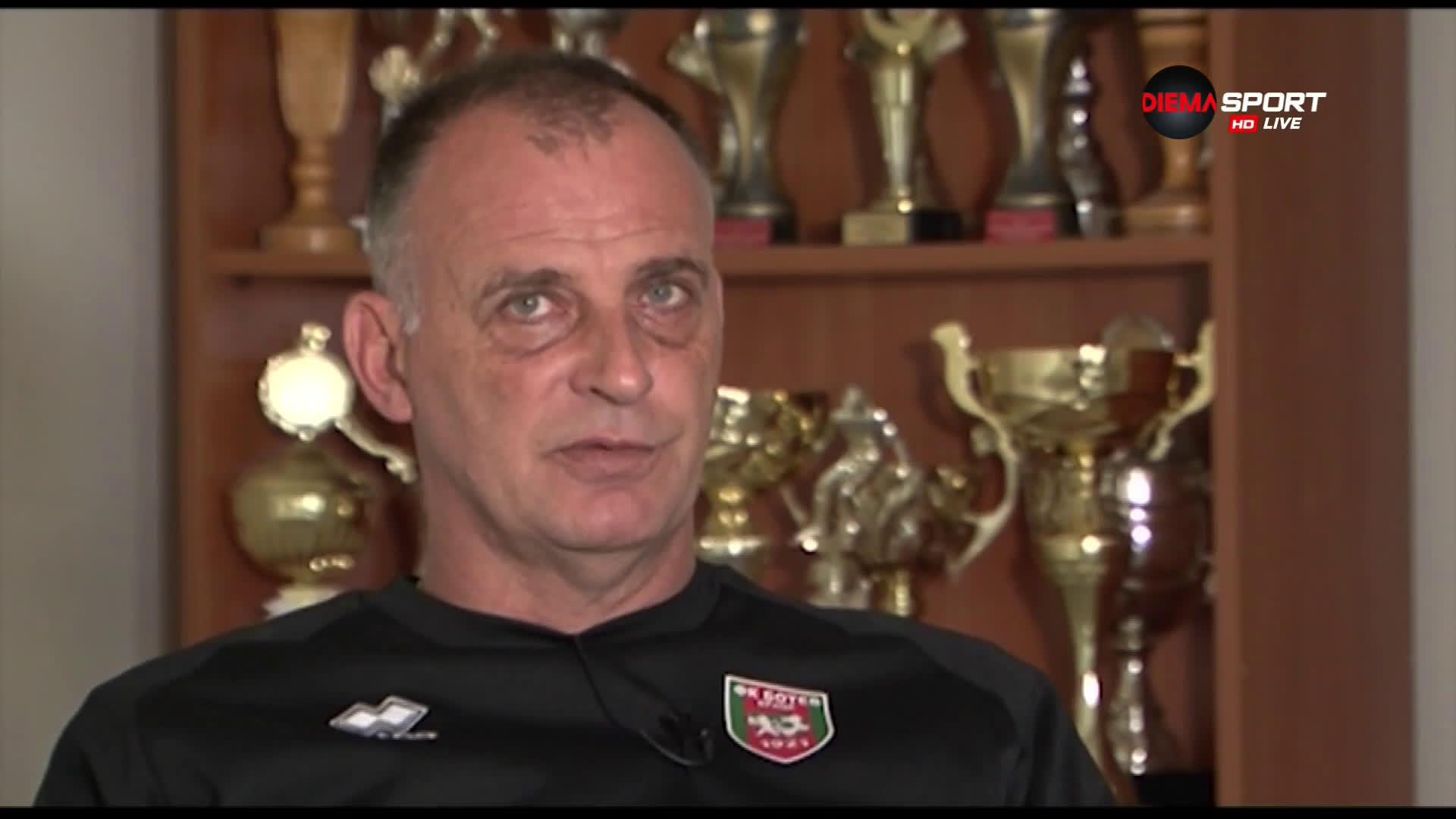 Тони Здравков за завръщането на добре познато място и новото начало