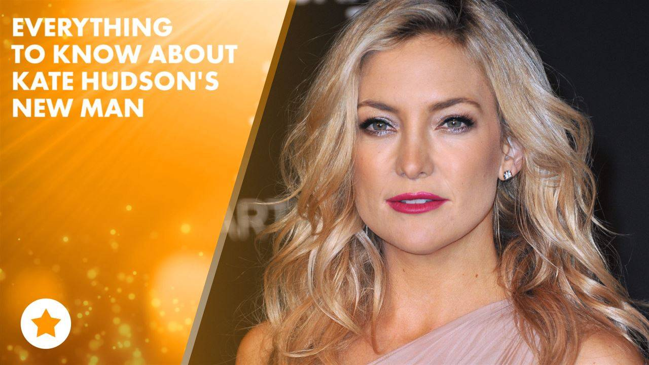 Kate Hudson makes red carpet debut with new boyfriend