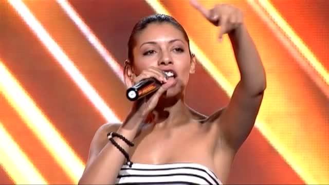 Соня Мембреньо - X Factor кастинг (08.09.2015)