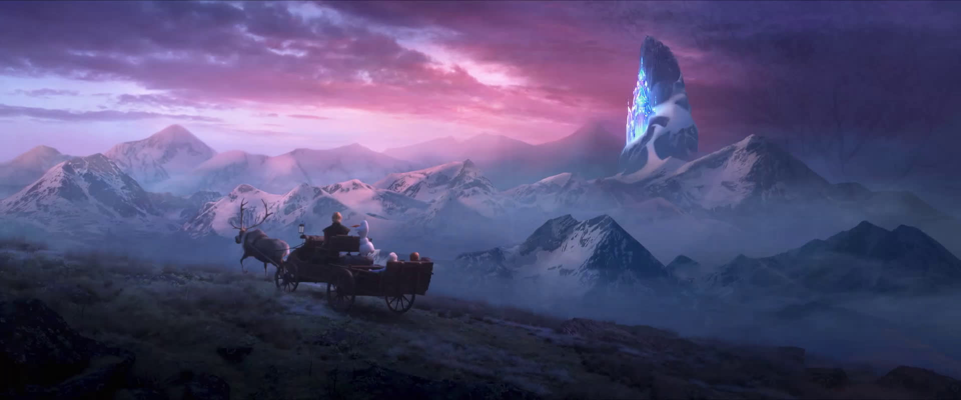 Замръзналото кралство 2 - втори трейлър, озвучен на български език