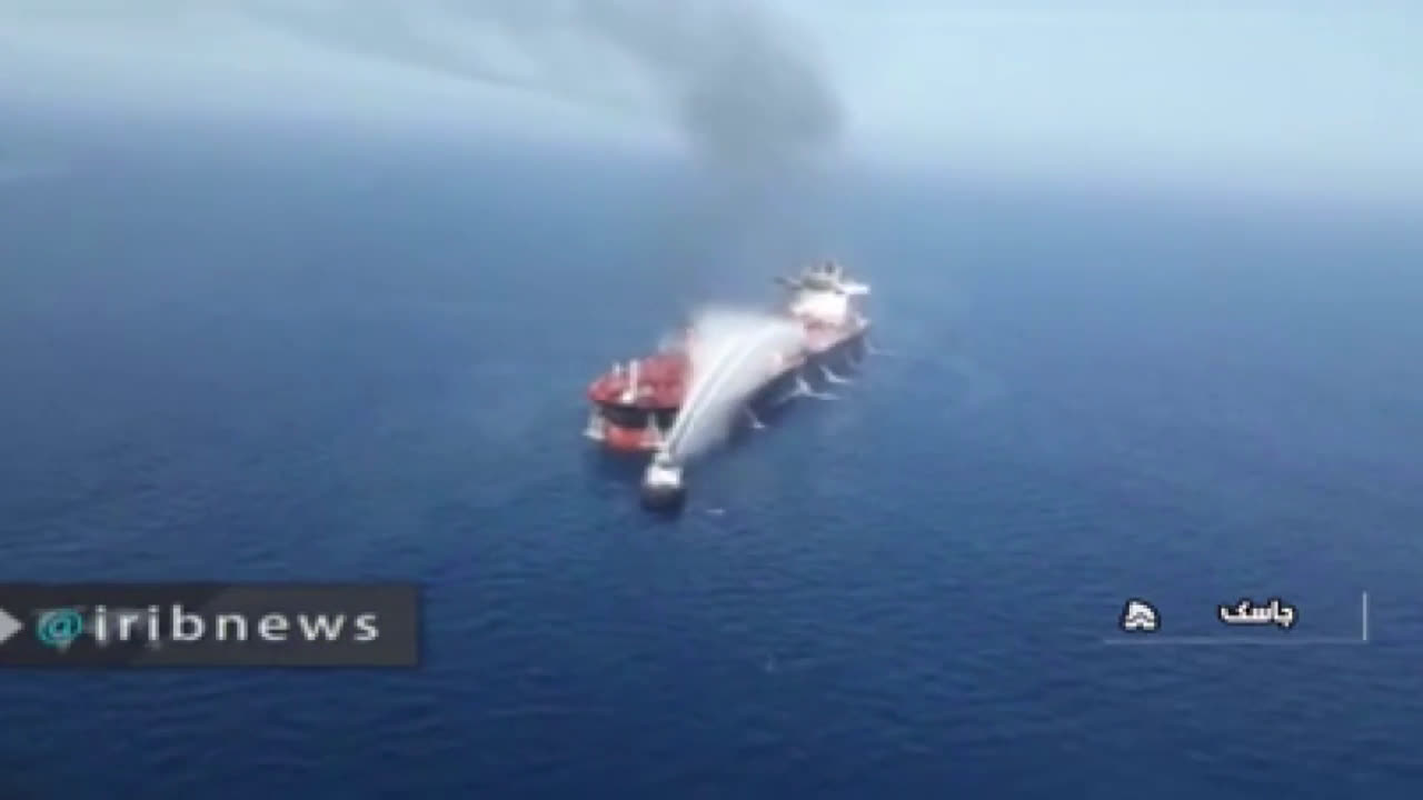 Iran: 23 crew members of oil tanker heading to Taiwan reportedly safe in Jask