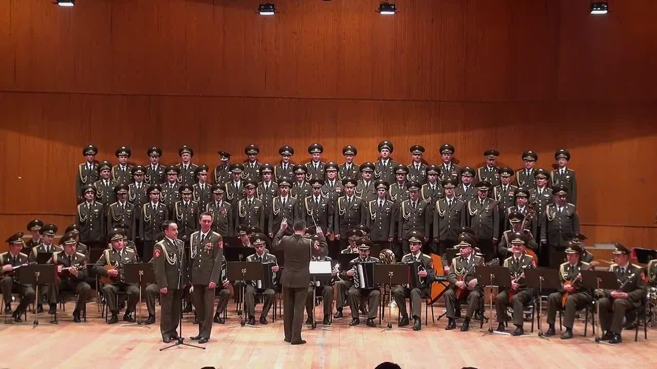 Хор на Червената Армия - Смуглянка молдованка