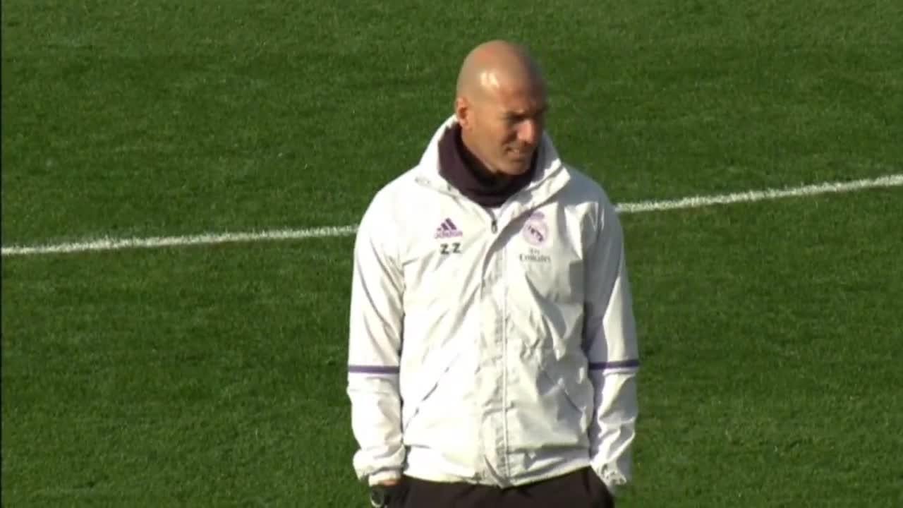 Реал Мадрид загрява за Севиля