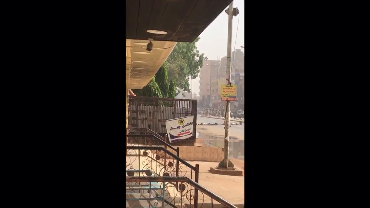 Sudan: Casualties reported after gunfire breaks out at Khartoum sit-in