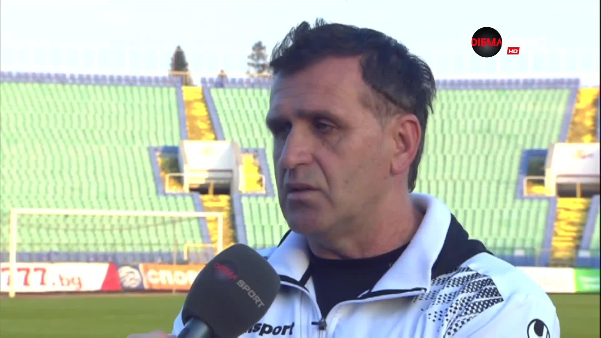 Бруно Акрапович: Не искам да коментирам съдията и грозните сцени