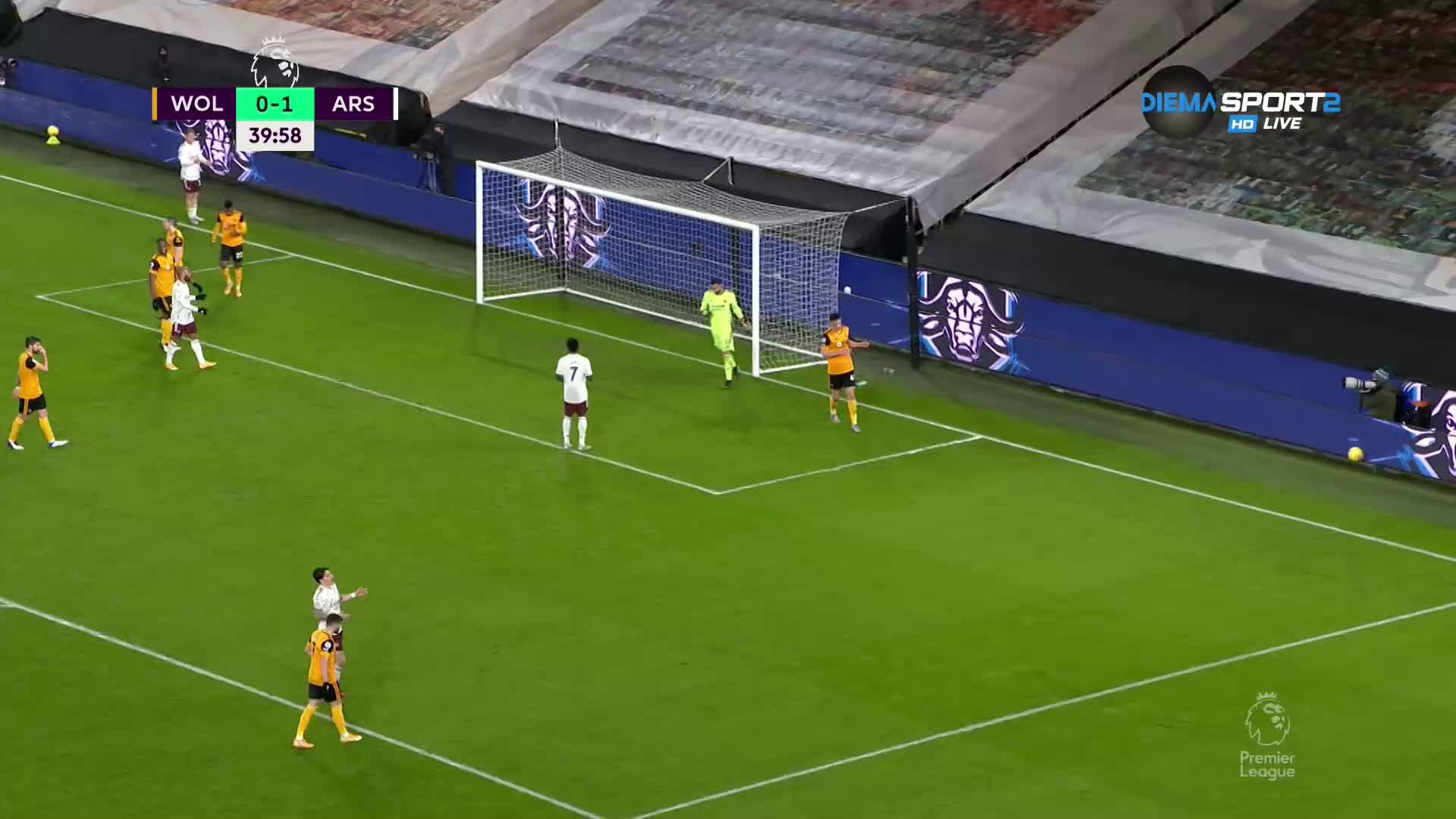 Уулвърхямптън Уондърърс - Арсенал 2:1 /репортаж/