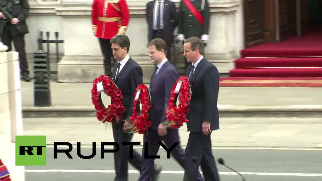 Камерън почита жертвите от Втората световна война