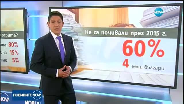 Колко пари харчи българинът за почивката си?