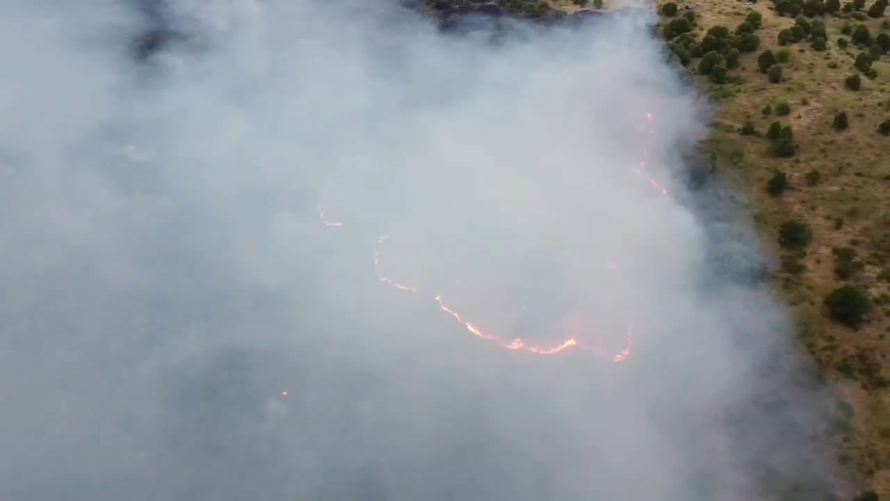 Два големи пожара горят в Хасковско