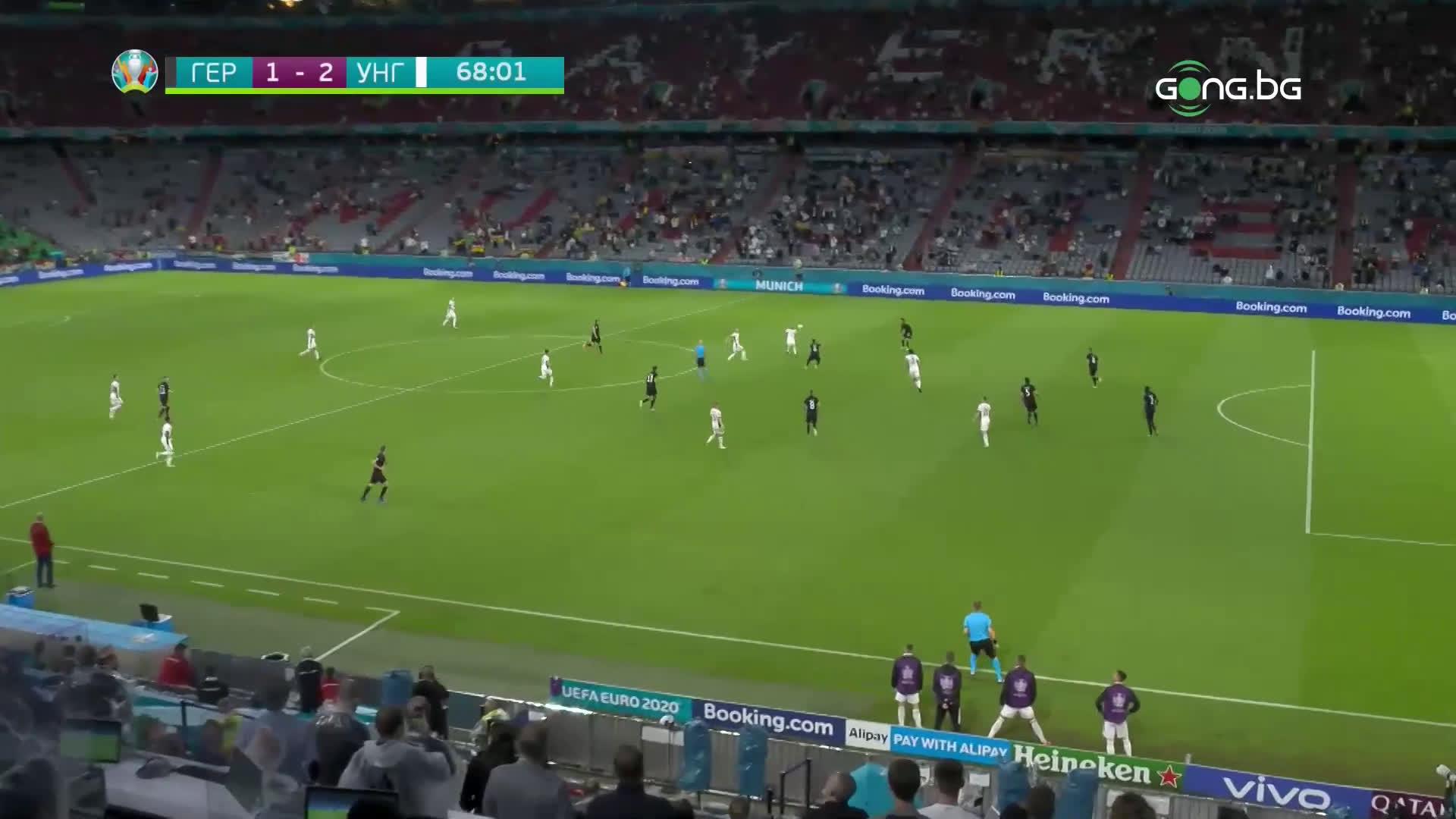 Германия - Унгария2:2 /репортаж/
