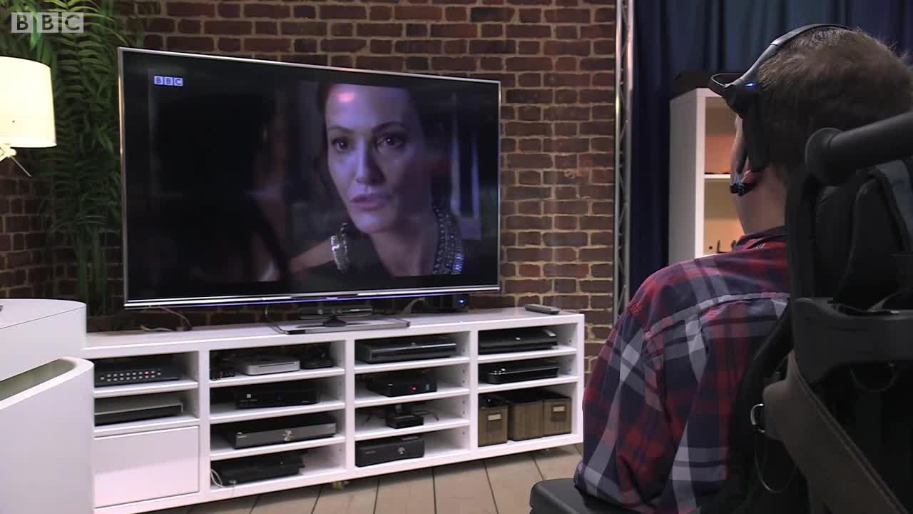 Да управляваш телевизора с ума си