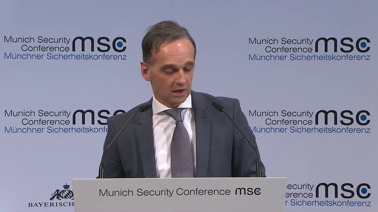 Germany: Officials lambast Trump administration at Munich Security Conference