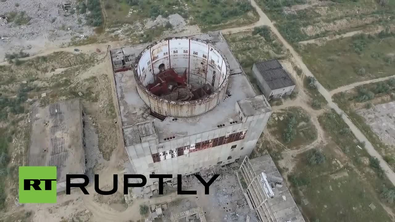 """Русия: Централа се разпада под \""""погледа\"""" на дрон"""