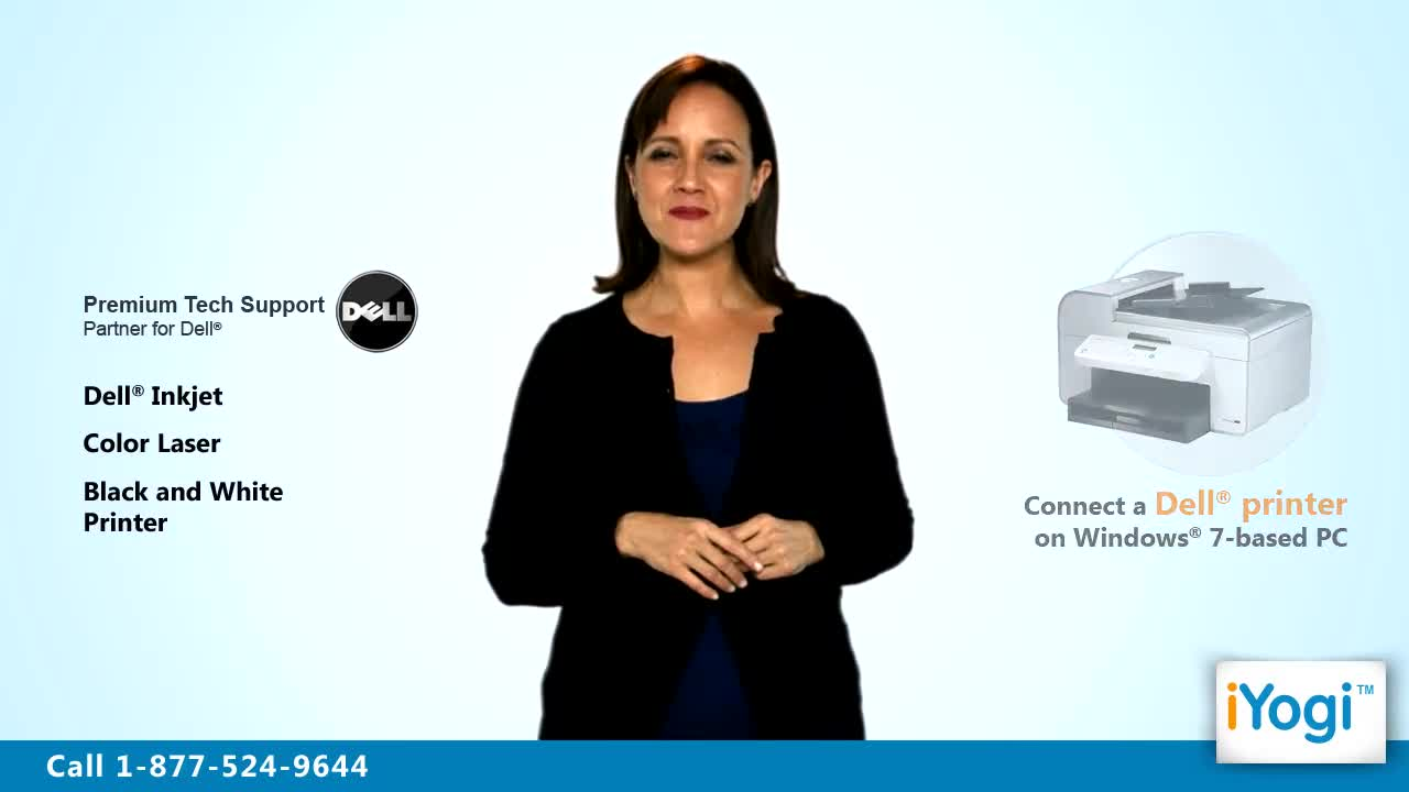 How to share a dell® printer on windows® vista network в.