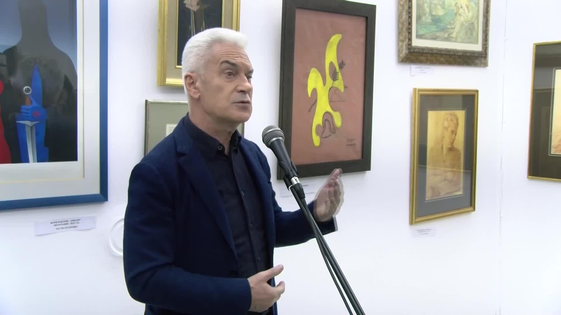 Волен Сидеров откри галерия в София
