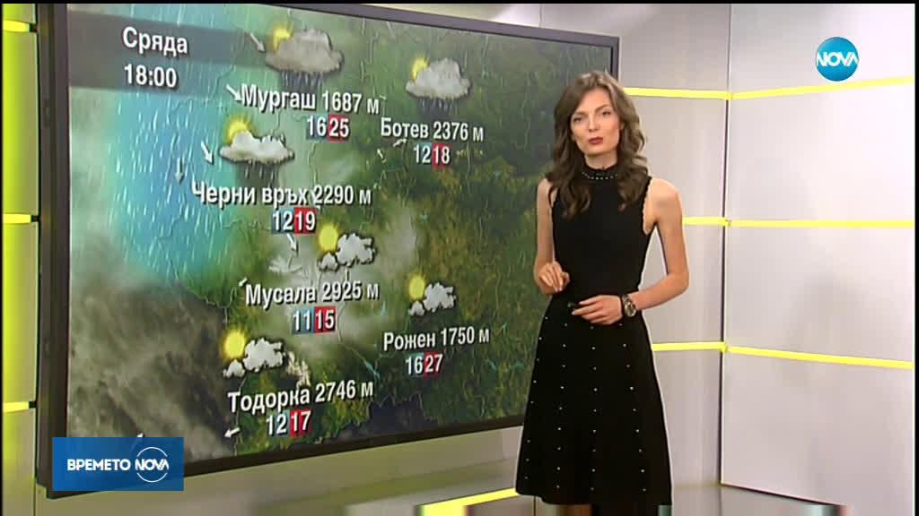Прогноза за времето (03.07.2019 - сутрешна)