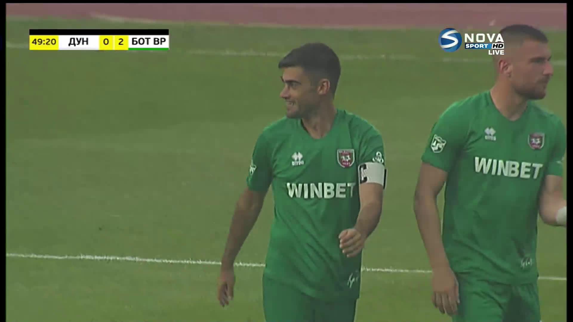 Втори гол на Петър Атанасов удвои преднината срещу Дунав