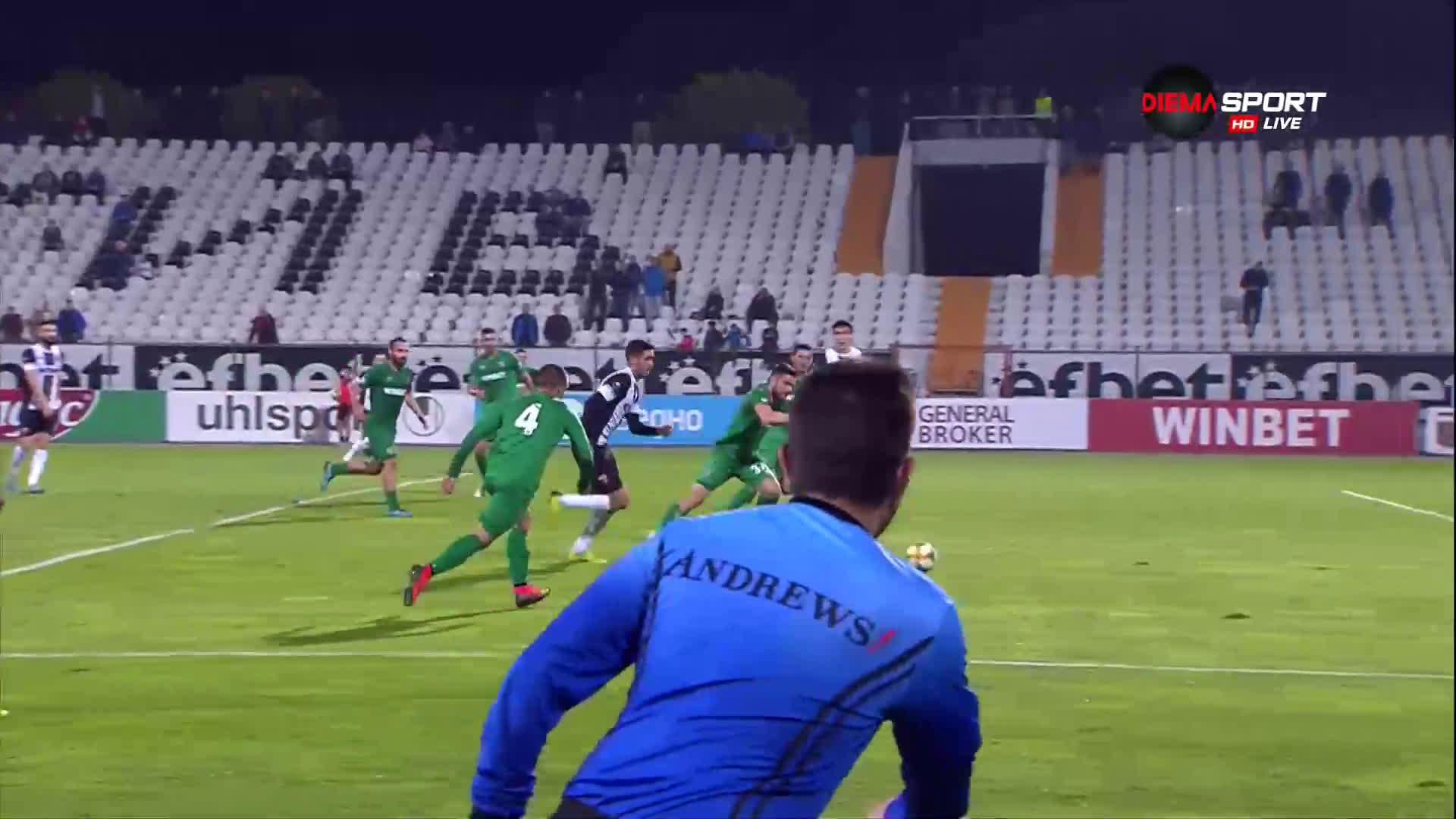Фамозен гол даде аванс на Локо Пд срещу Ботев Враца