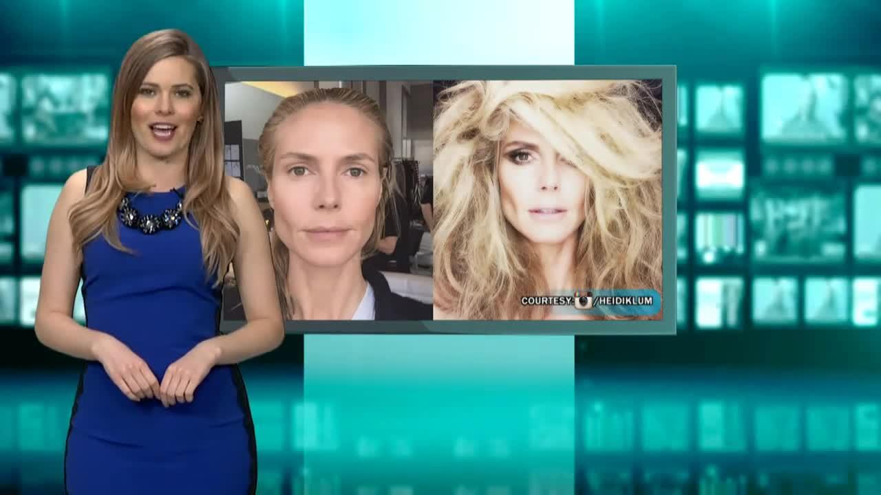 See Heidi Klum Without Makeup!