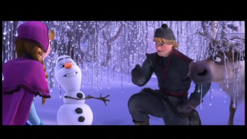 Замръзналото кралство - откъс с Олаф