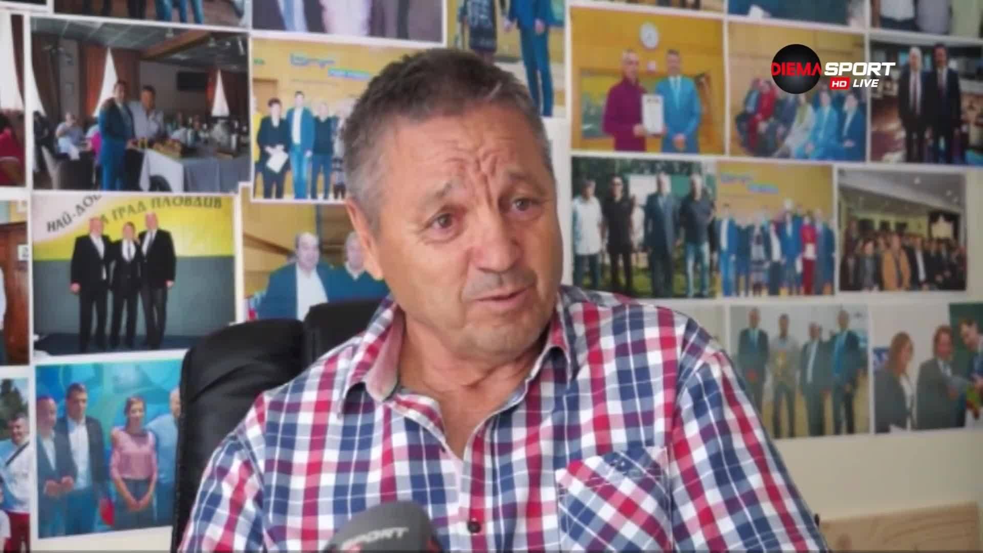 Зехтински: Жалко, че не станахме шампиони с Ботев