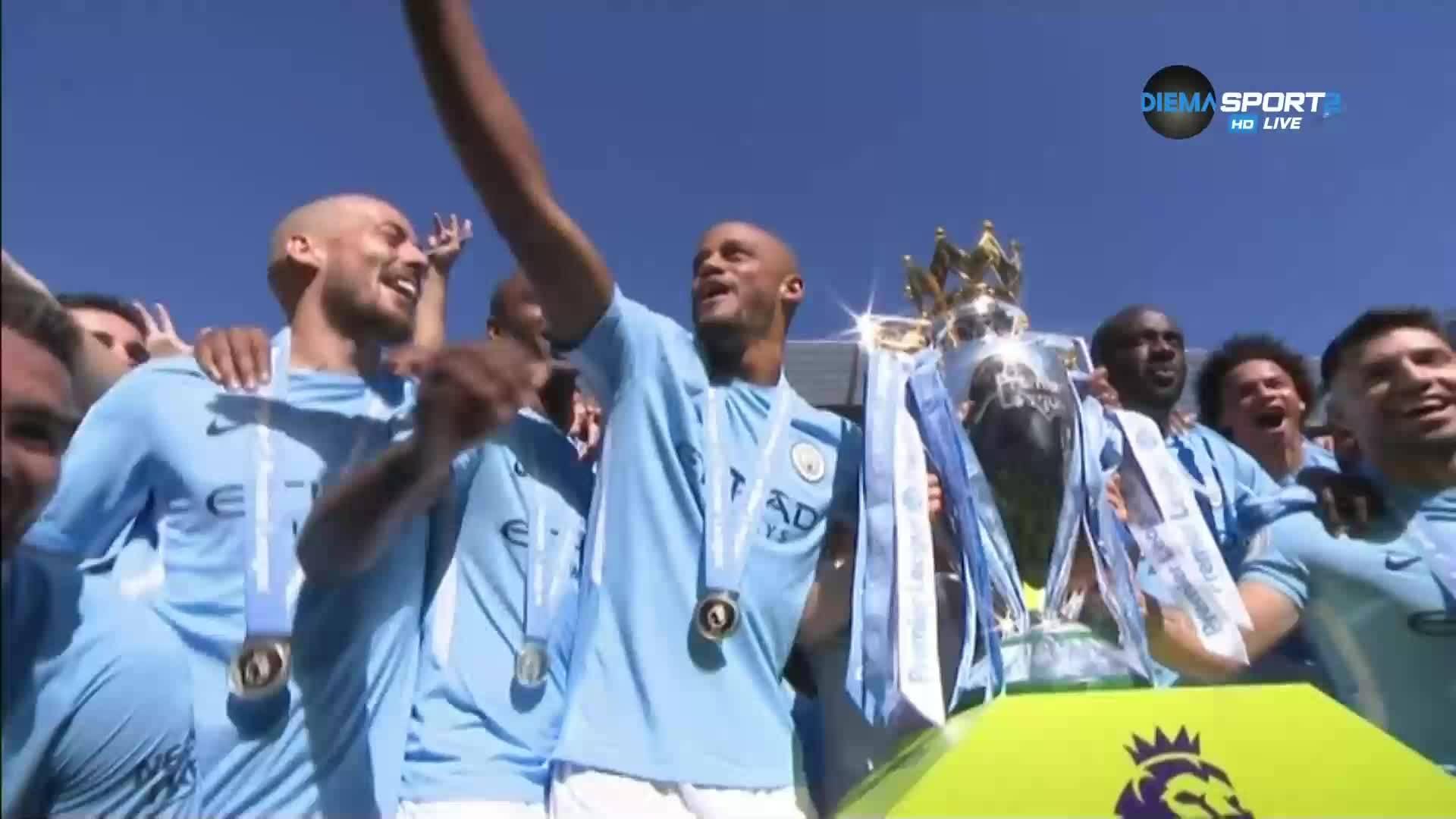Манчестър Сити е новият крал на Англия!