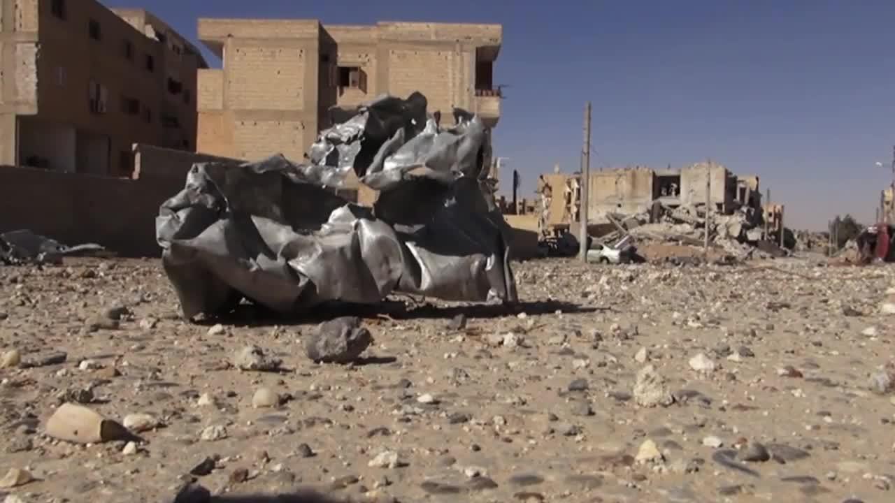 Syria: War-torn Raqqa decimated by IS battle