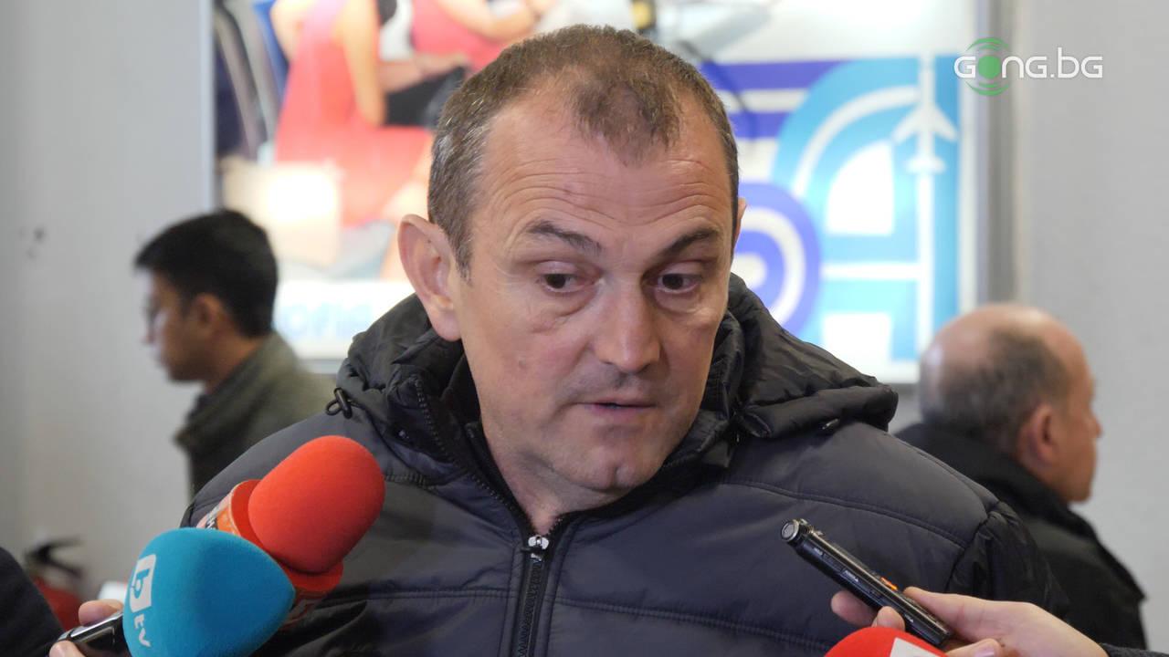 Загорчич: Много съм разочарован от контузията на Тасевски
