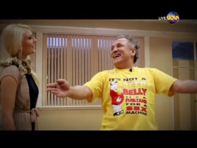 Dancing Stars - Бате Енчо и Петя cha-cha (11.03.2014г.)